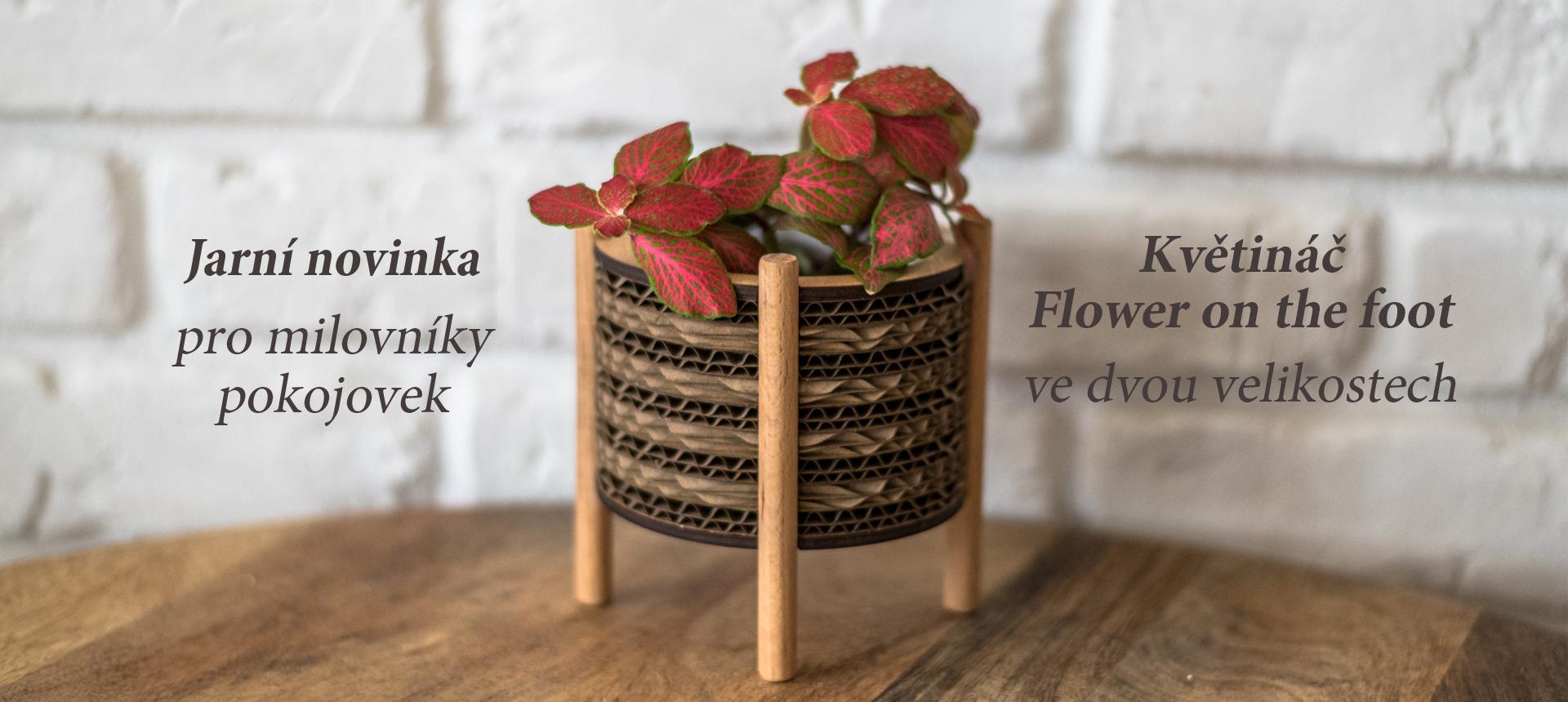 Nová série květináčů Flower on the foot