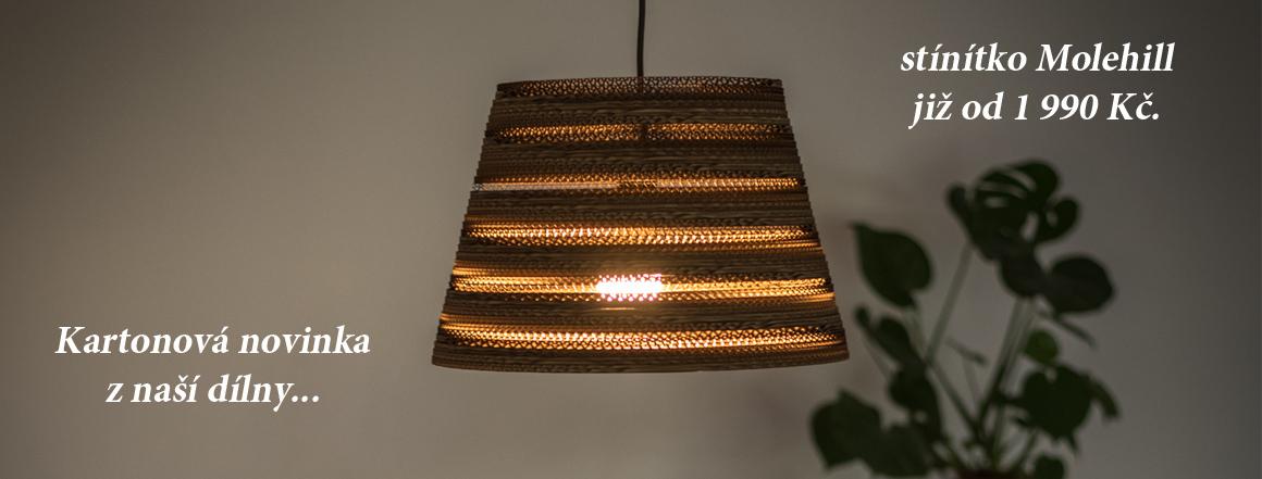 Nové světlo Molehill ve 3 provedeních
