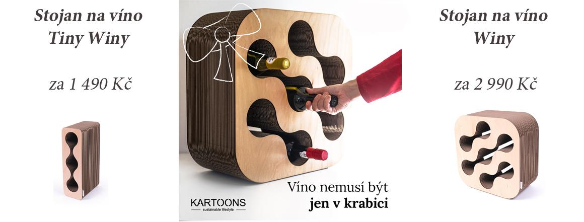 Vánoční nabídka stojanů na víno