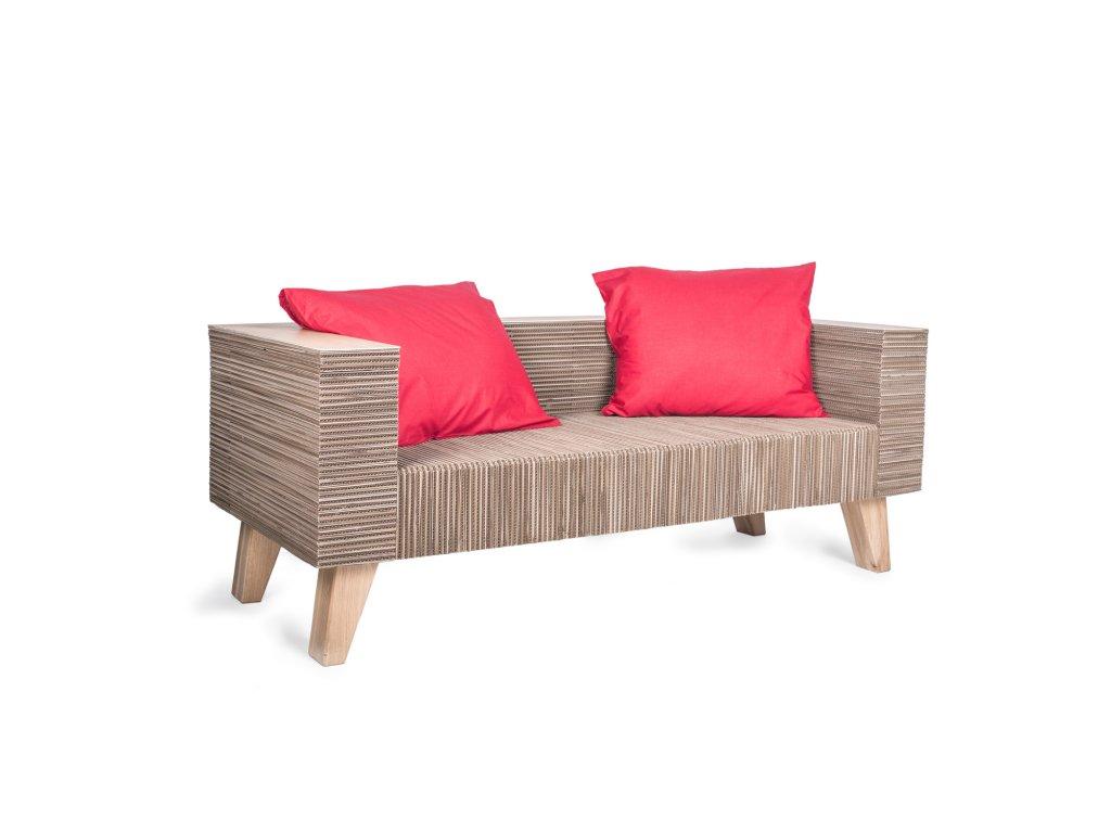 Kartoons cardboard sofa CardDivan 01 1500x1500px