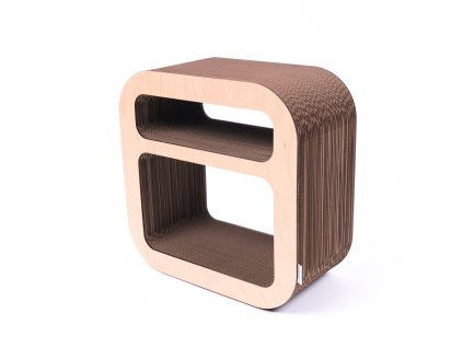 Kartoons cardboard night table Roundshelf nature 1500x1500px