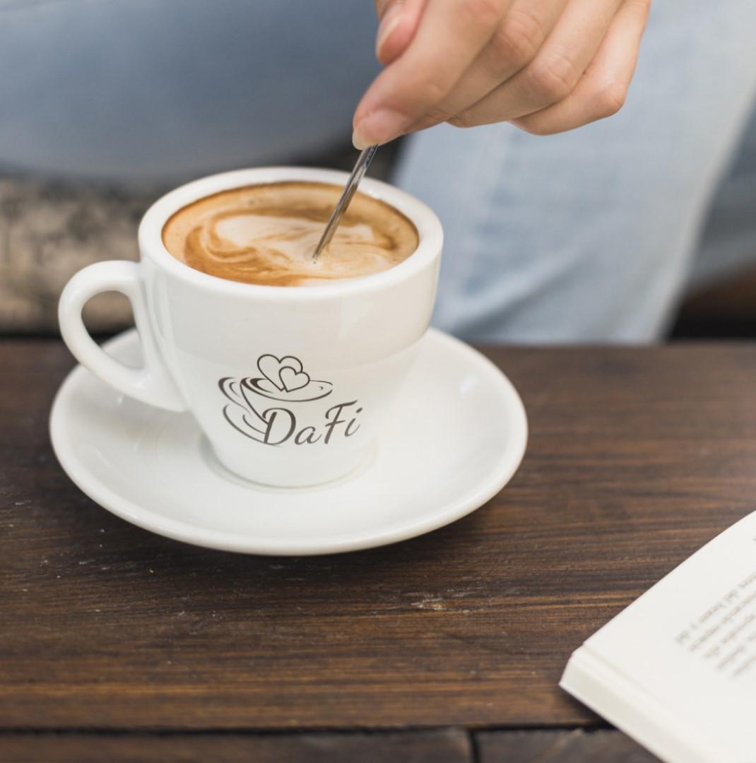 Webové stránky kavárny DaFi