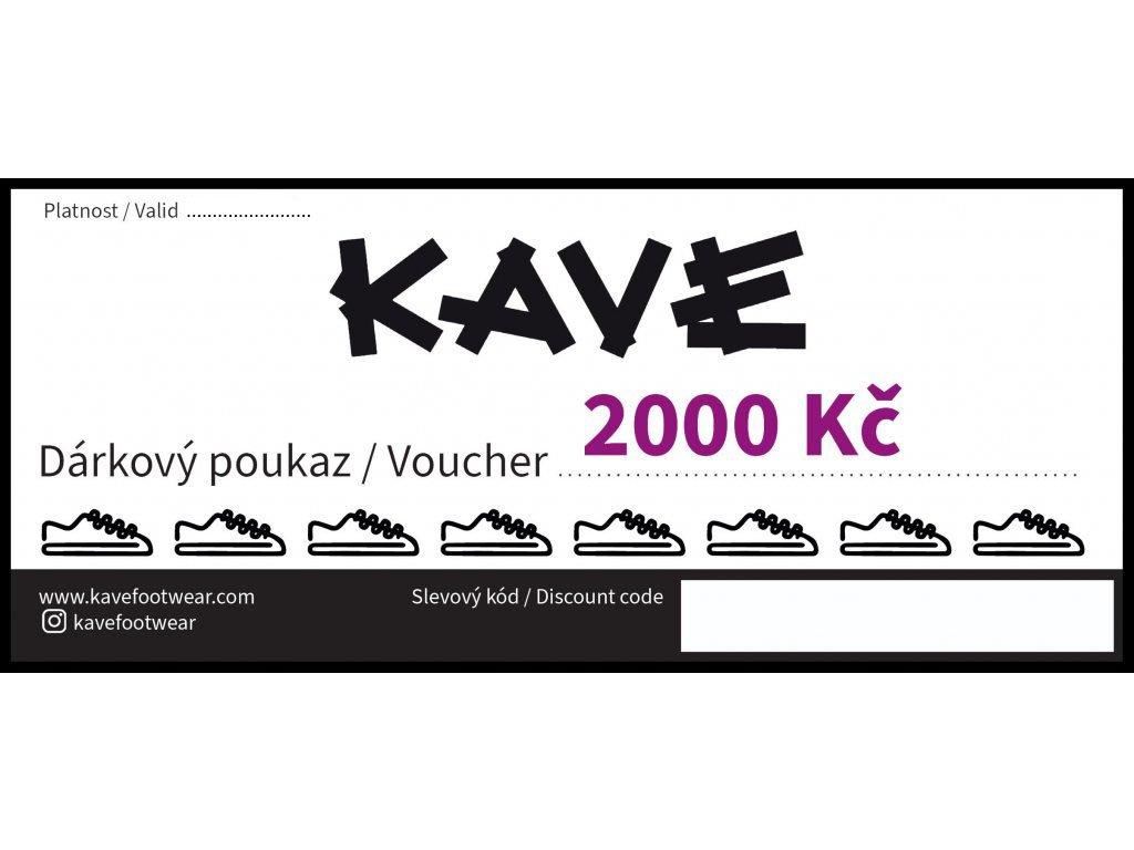 DARKOVY POUKAZ KAVE 2000