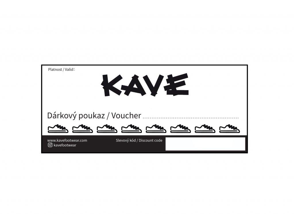 E-VOUCHER / DÁRKOVÝ POUKAZ 1000,- ELEKTRONICKÝ