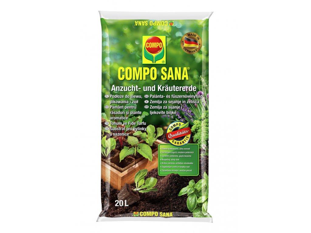 258 compo sana substrat pro bylinky a vysev