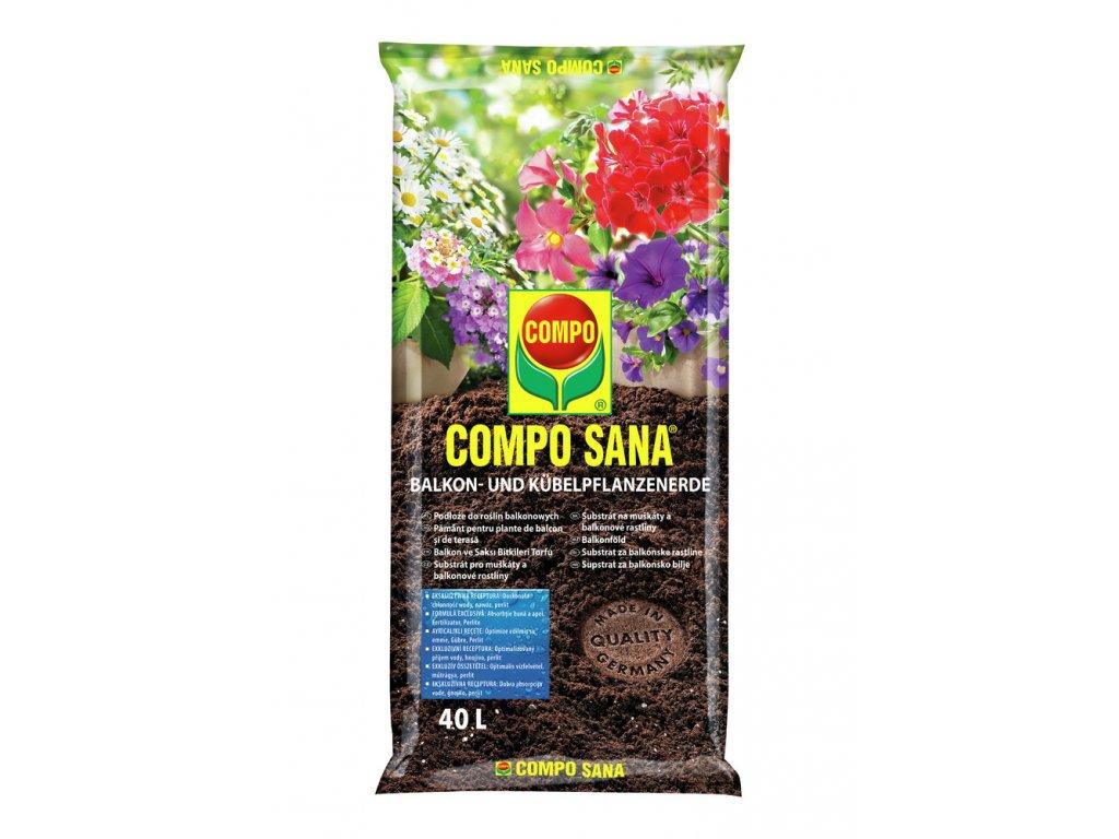 270 compo sana substrat pro muskaty a balkonove rostliny