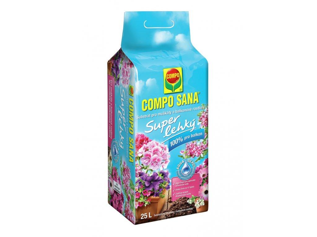 273 compo sana substrat pro muskaty a balkonove rostliny super lehky