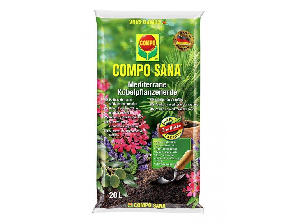 288 compo sana substrat pro stredomorske rostliny