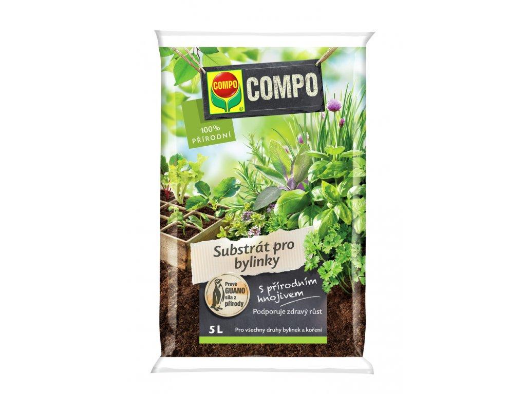 300 compo substrat pro bylinky