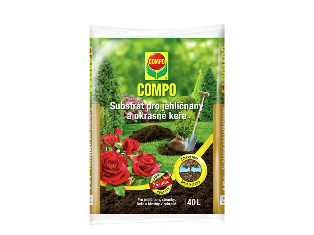 303 compo substrat pro jehlicnany a okrasne kere