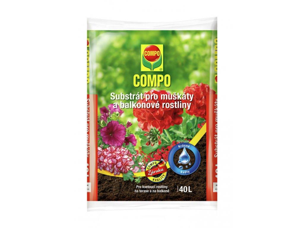 306 compo substrat pro muskaty a balkonove rostliny