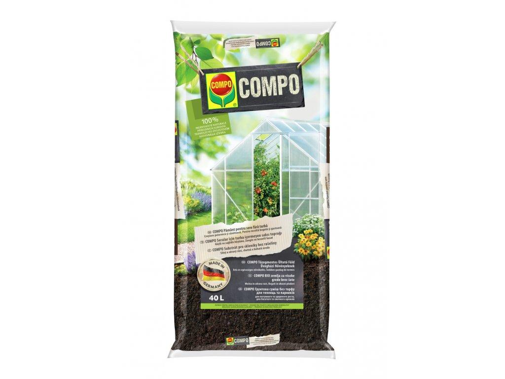 312 compo substrat pro skleniky a zvysene zahony bez raseliny