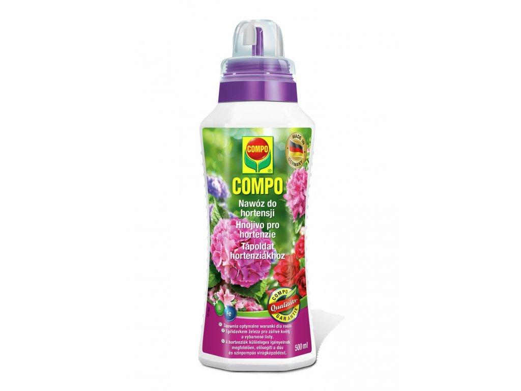 324 compo tekute hnojivo pro hortenzie a kyselomilne rostliny