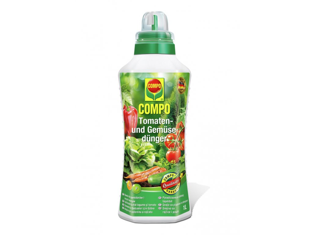 336 compo tekute hnojivo pro rajcata a zeleninu