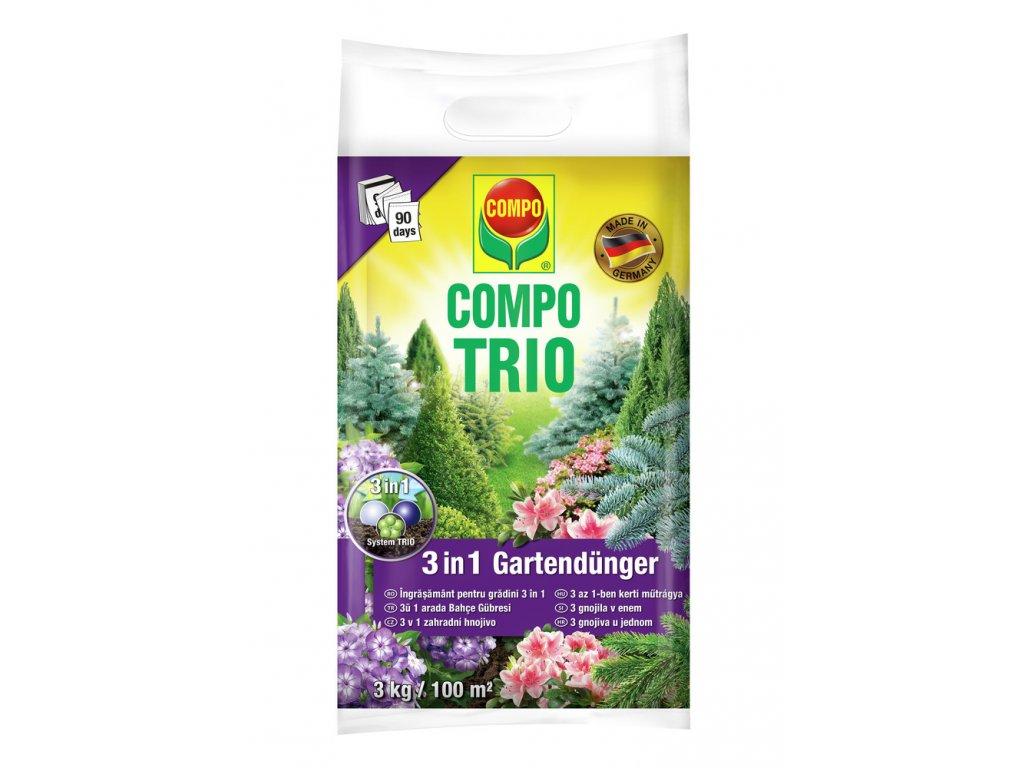 351 compo trio zahradni hnojivo 3 v 1