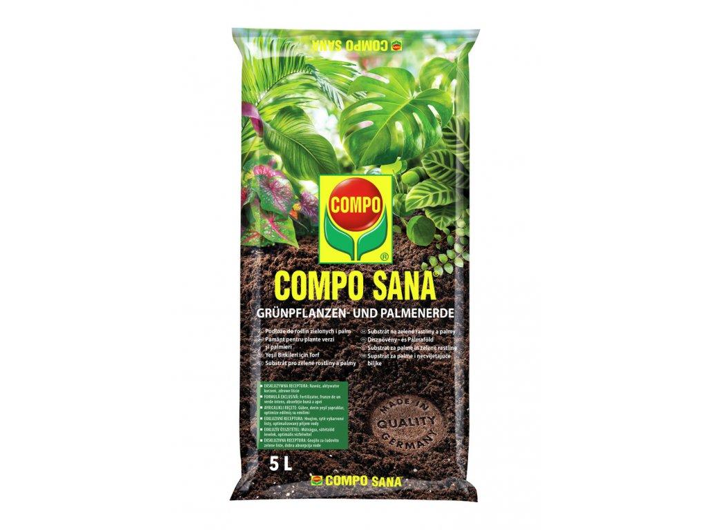 COMPO SANA® Substrát pro zelené rostliny a palmy (Velikost 20 l, balení 20 l)