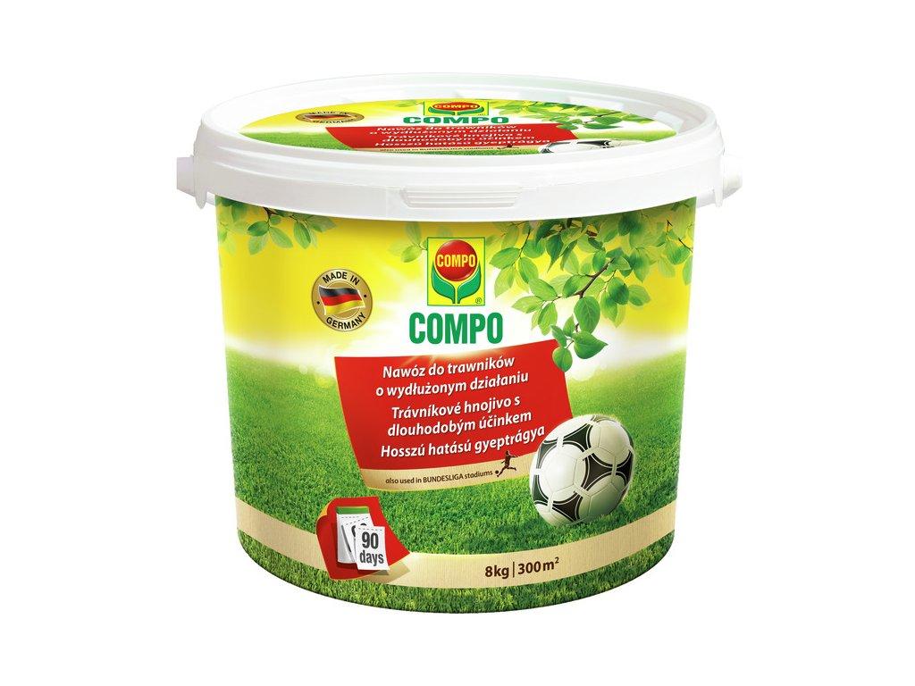 COMPO Trávníkové hnojivo s dlouhodobým účinkem (balení 2 kg)