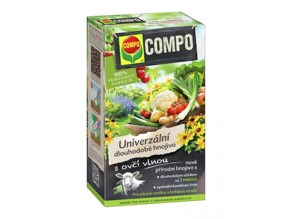 COMPO Univerzální dlouhodobé hnojivo s ovčí vlnou (balení 2 kg)