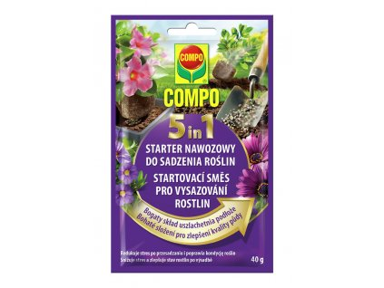 180 compo 5 in 1 startovaci smes pro vysazovani rostlin