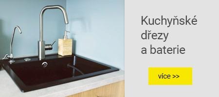 Kuchyňské dřezy a baterie