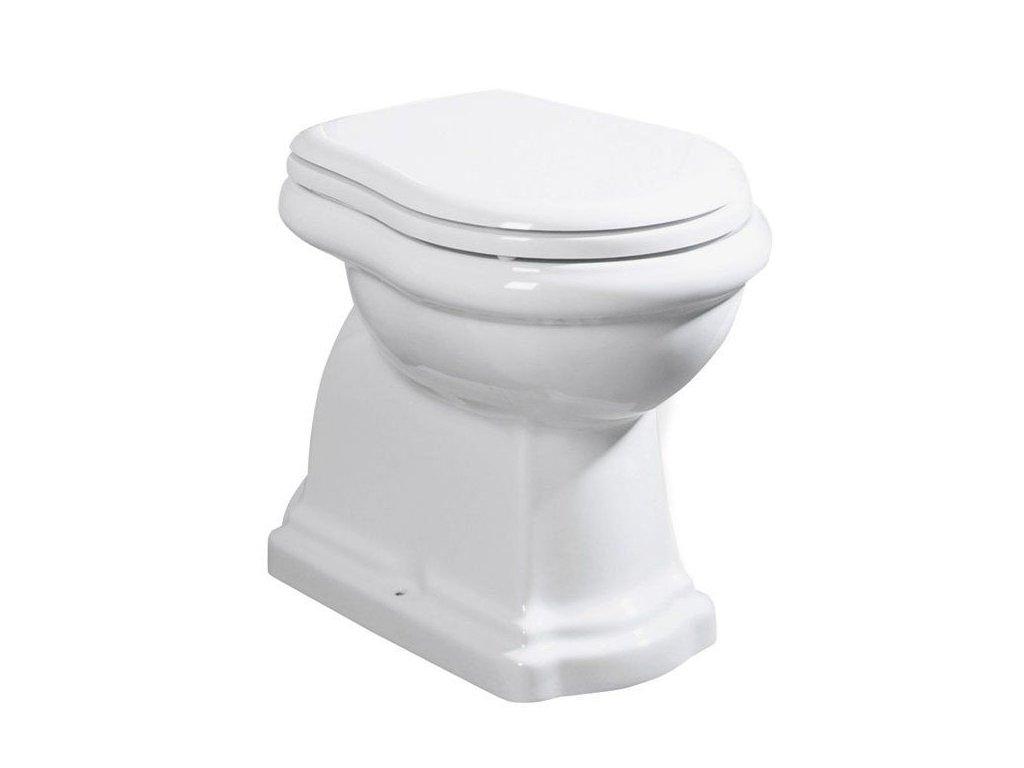 KERASAN - RETRO WC mísa stojící, 38,5x45x59cm, spodní odpad 101001