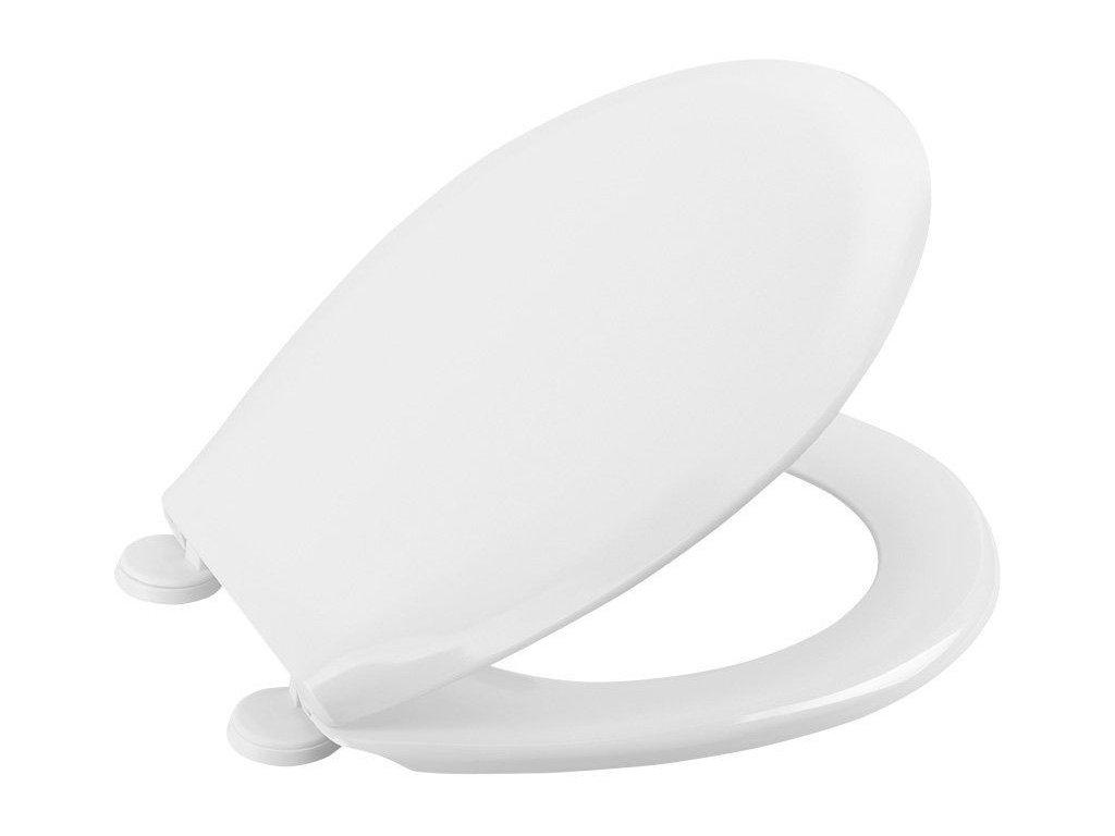SAPHO - URAN WC sedátko, duroplast, univerzální, bílé 1011