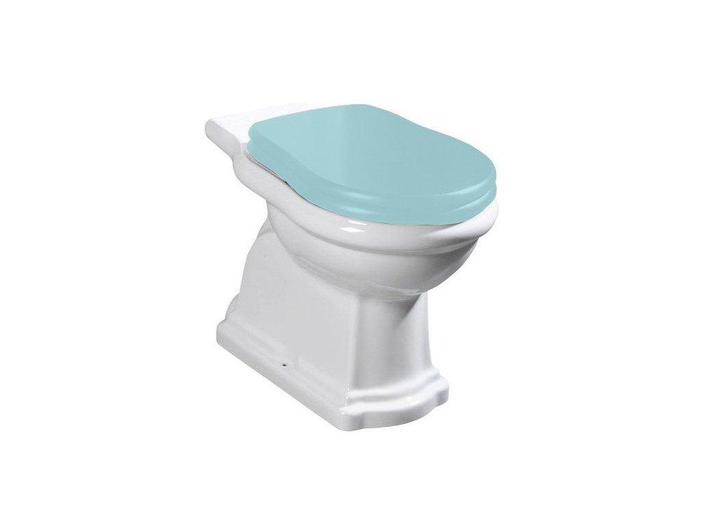 KERASAN - RETRO WC kombi mísa 38,5x41x72cm, zadní odpad 101301