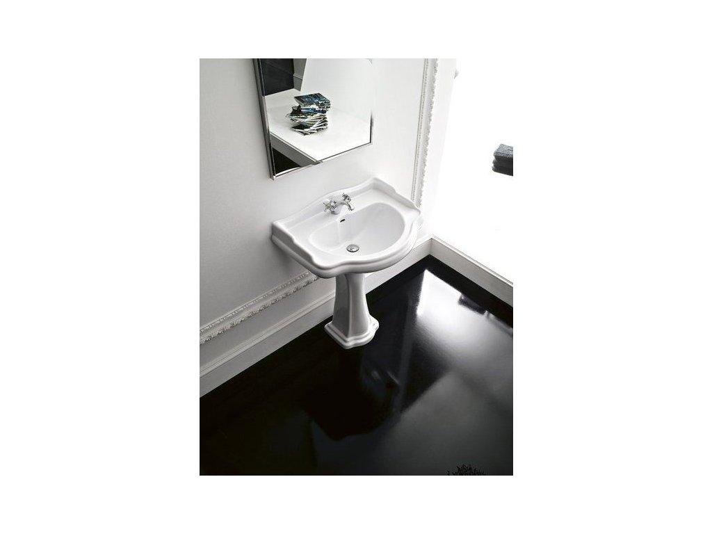 KERASAN - RETRO keramické umyvadlo 56x46,5cm 104501