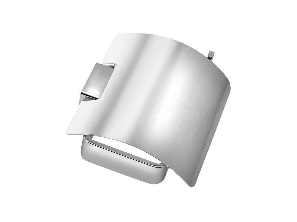SAPHO - EVEREST držák toaletního papíru s krytem, chrom 1313-07