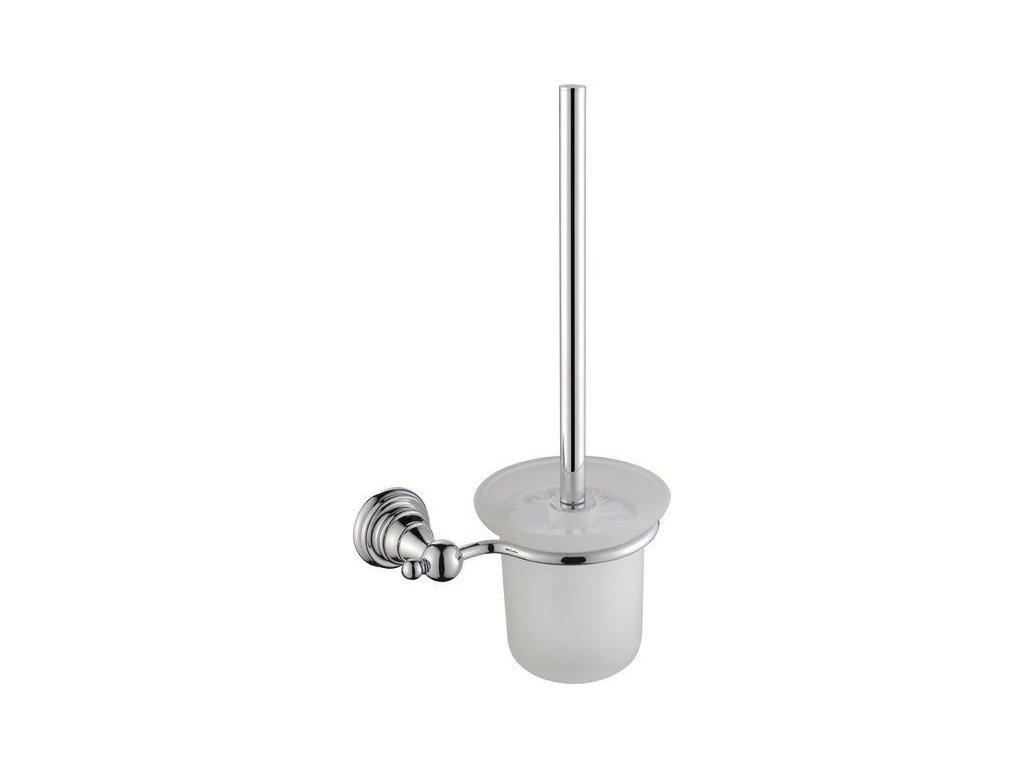SAPHO - DIAMOND WC štětka, chrom 1317-08