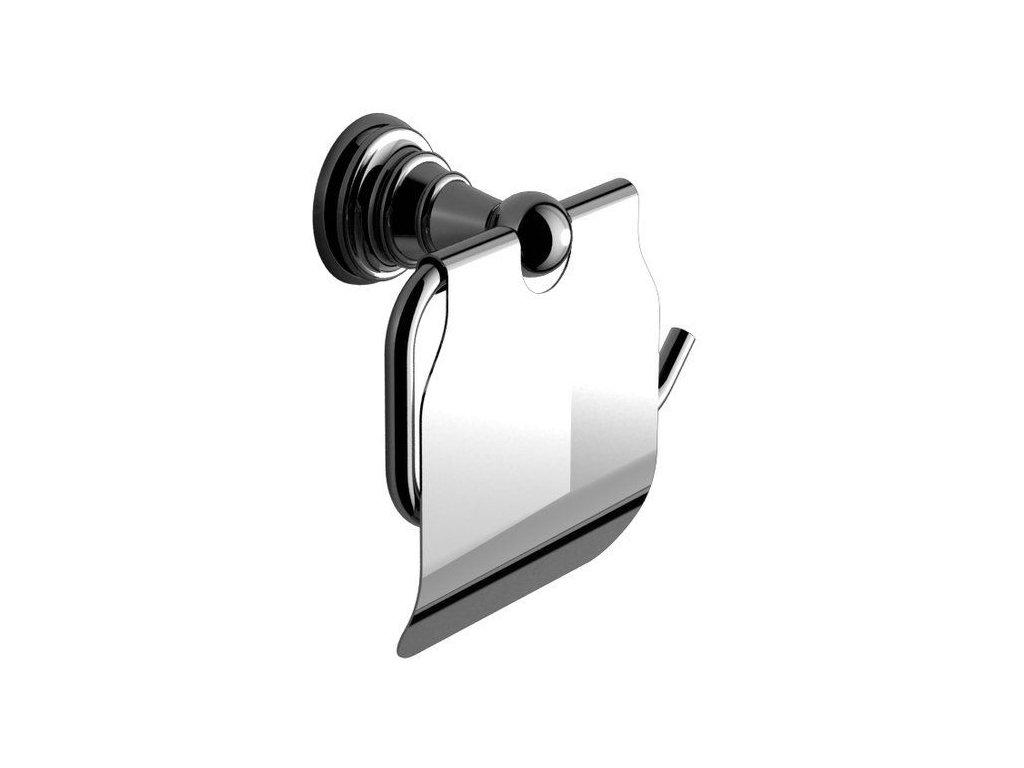 SAPHO - DIAMOND držák toaletního papíru s krytem, chrom (1317-17)