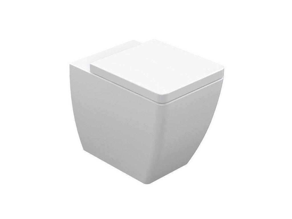 KERASAN - EGO WC mísa 36x43x53cm, spodní/zadní odpad (321601)
