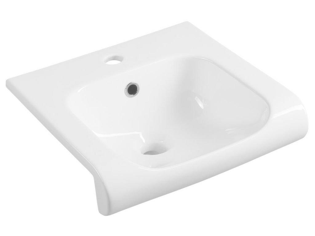 KERASAN - INKA keramické umyvadlo 40x40cm, bílá (341201)