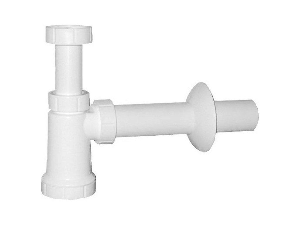 "Bruckner - Umyvadlový sifon 1""1/4, odpad 40 mm, bílá 151.109.0"