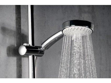 SAPHO - Ruční masážní sprcha 5 režimů sprchování, průměr 120mm, ABS/chrom 1204-04