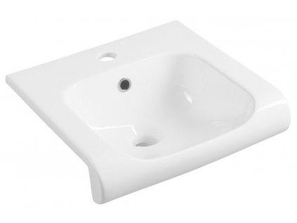 KERASAN - INKA keramické umyvadlo 40x40cm, bílá 341201