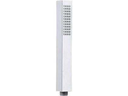 SAPHO - Ruční sprcha, hranatá, 220mm, ABS/chrom (F28)