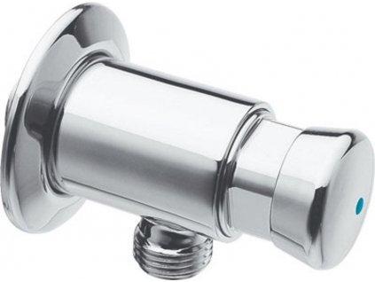 SILFRA - QUIK samouzavírací nástěnný ventil pro urinál, chrom QK10051