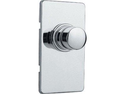 SILFRA - QUIK samouzavírací podomítkový WC ventil, chrom QK82051