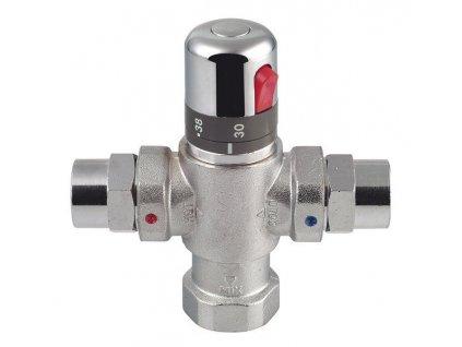 SAPHO - Termostatický směšovač pro 4 až 8 odběrných míst, chrom (TMTCOM)