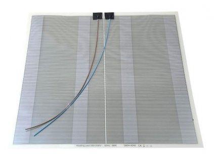SAPHO - Elektrická topná folie pod zrcadlo 38W, 40x40 cm (MTF14)