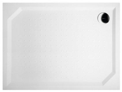 GELCO - SARA sprchová vanička z litého mramoru, obdélník 120x90x4cm GS12090