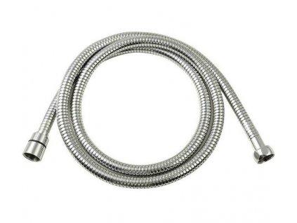 SAPHO - LUX opletená sprchová hadice, roztažitelná 150-180cm, chrom (FSACC293)