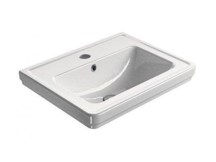 GSI - CLASSIC keramické umyvadlo 60x46 cm, bílá ExtraGlaze 8731111