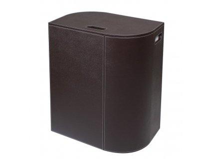 SAPHO - VELA koš na prádlo 48,5x61x32cm, hnědá (2464DB)