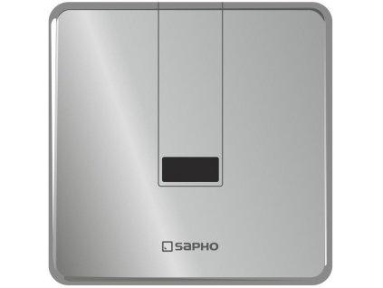 SAPHO - Podomítkový automatický splachovač pro urinál 6V (4xAA), nerez PS006