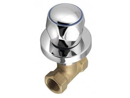 AQUALINE - Podomítkový ventil 1/2', chrom VP621