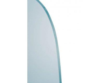 SAPHO - Oddělovací stěna mezi urinály 40x80 cm, sklo mat 2502-05