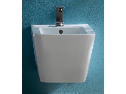 SAPHO - STORM bidet závěsný, 36x55 cm, bílá RM200