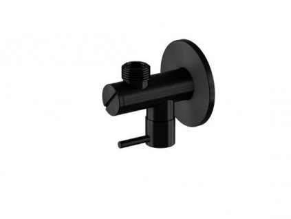 """STEINBERG - Rohový ventil 1/2"""" černá mat (100 1640 S)"""